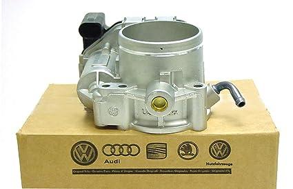 Volkswagen Genuine VW Throttle Body 2 5 Jetta Beetle Rabbit Golf Passat  2008-14 with TPS 07K-133-062-A