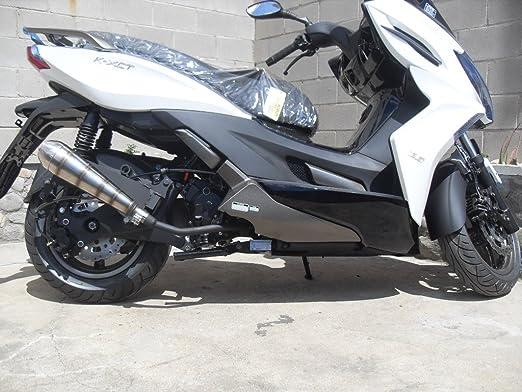 Kymco K-XCT 125 ES decir 2013 – 2014 (sistema de escape para moto ...