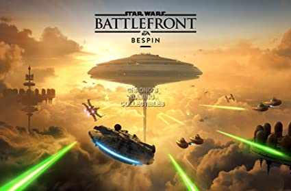 Amazon.com: CGC enorme cartel – Star Wars Battlefront Bespin ...