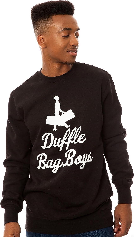 Crooks and Castles Men's Duffle Bag Boys Crewneck Sweatshirt: Clothing