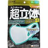 超立体マスク ウイルスガード 大きめサイズ 4枚入×12個セット