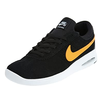 NIKE SB AIR Max Bruin Vapor Mens Skateboarding Shoes 882097 081_7 BlackCircuit Orange White Black