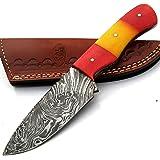 MNSA-8791 Cuchillo de Cocina de Chef de Acero de Damasco ...