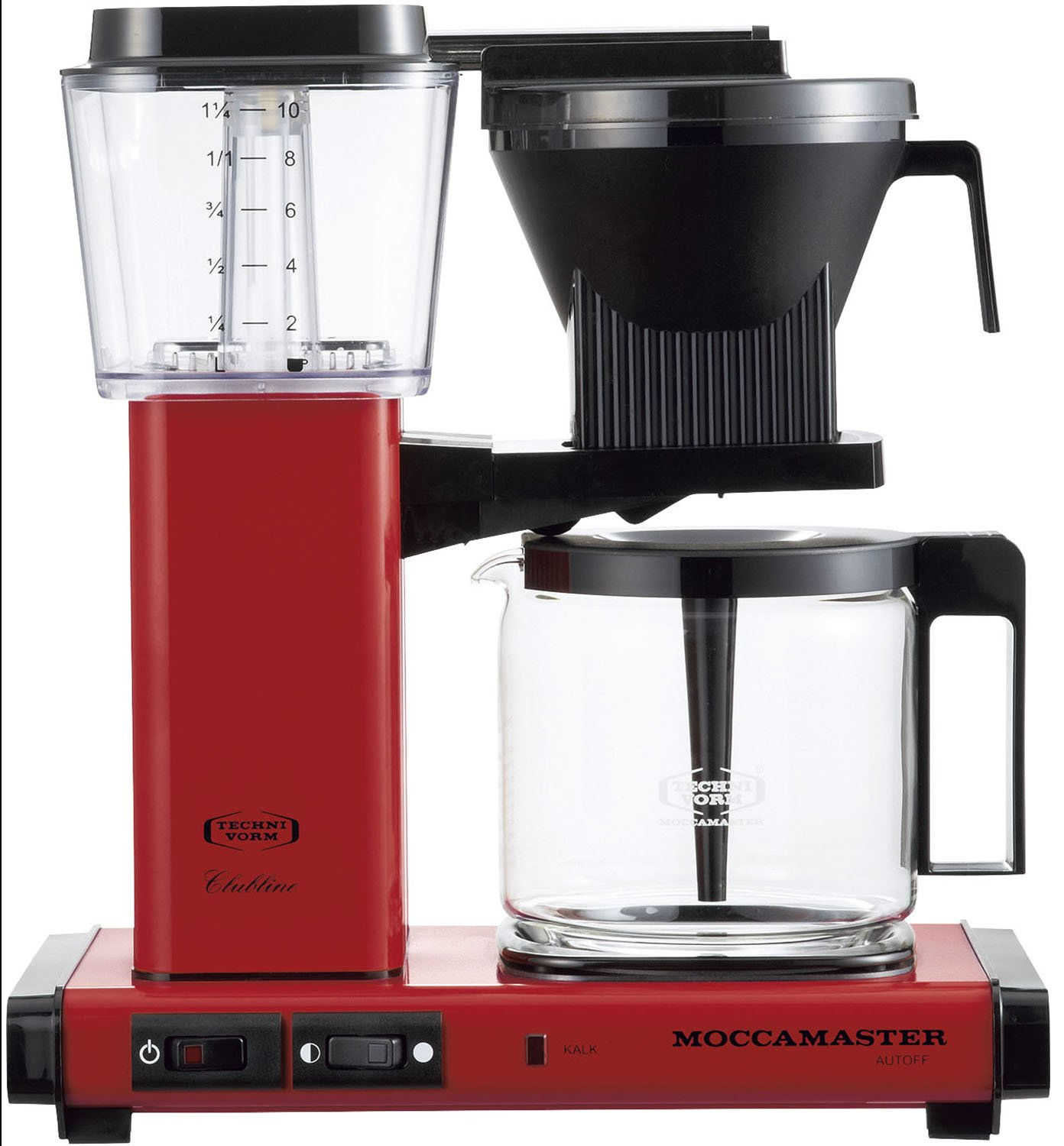 Amazon Technivorm Moccamaster Coffeemakers Mm741ao Rd Red