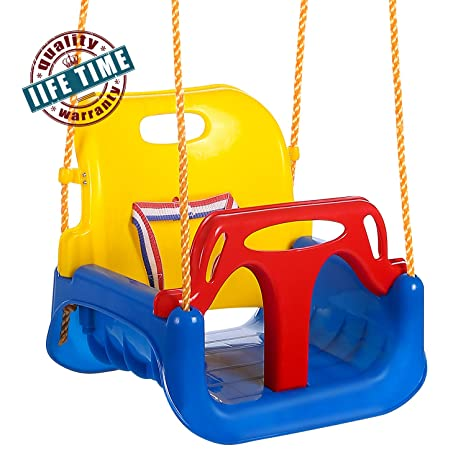 Amazon Com Ancheer 3 In 1 Toddler Swing Seat Infants To Teens