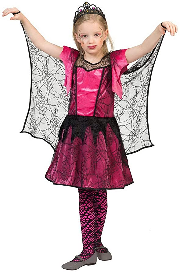 Lujo Piratas – Chica Disfraz para Niños, arañas de Red Disfraz ...