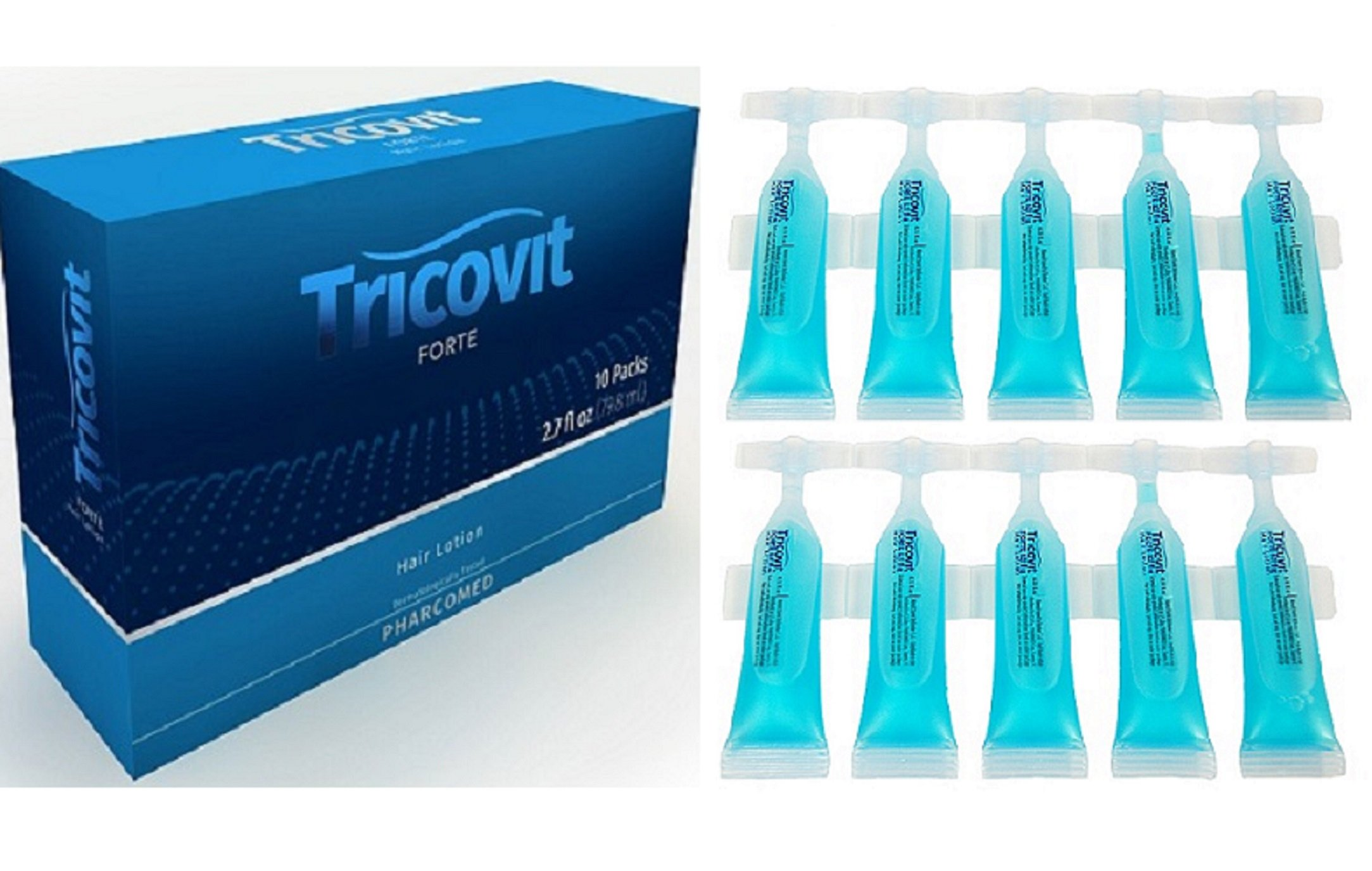 Tricovit Forte Hair Loss Prevention and Growth Set by Tricovit Forte (Image #1)