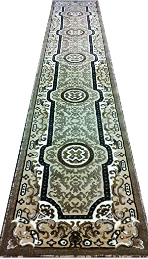 Traditional Long Runner Rug 32 Inch. X 15 Ft. 4 Inch. Design Concord 314 Berber