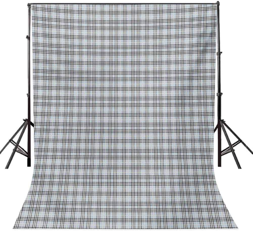 Abstract 10x15 FT Photography Backdrop Modern Checkered Motif in Soft with Geometric Effects Symmetry Fashion Image Background for Photography Kids Adult Photo Booth Video Shoot Vinyl Studio Props
