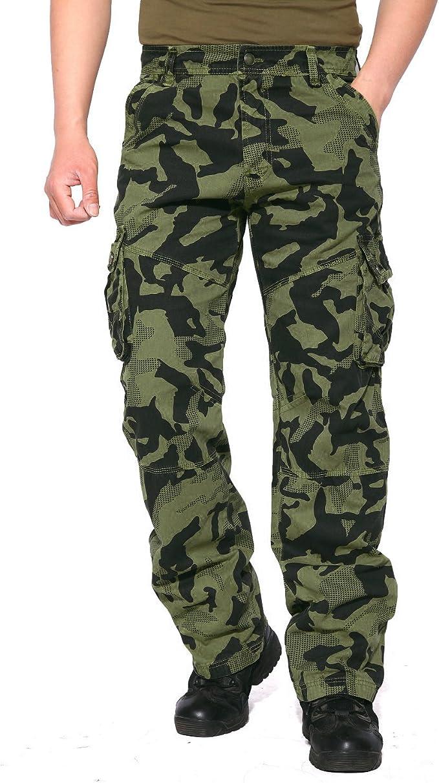 Amazon Com Eklentson Pantalones De Camuflaje Para Hombre Tacticos Militares Ajustados Verde Army Camuflado Clothing
