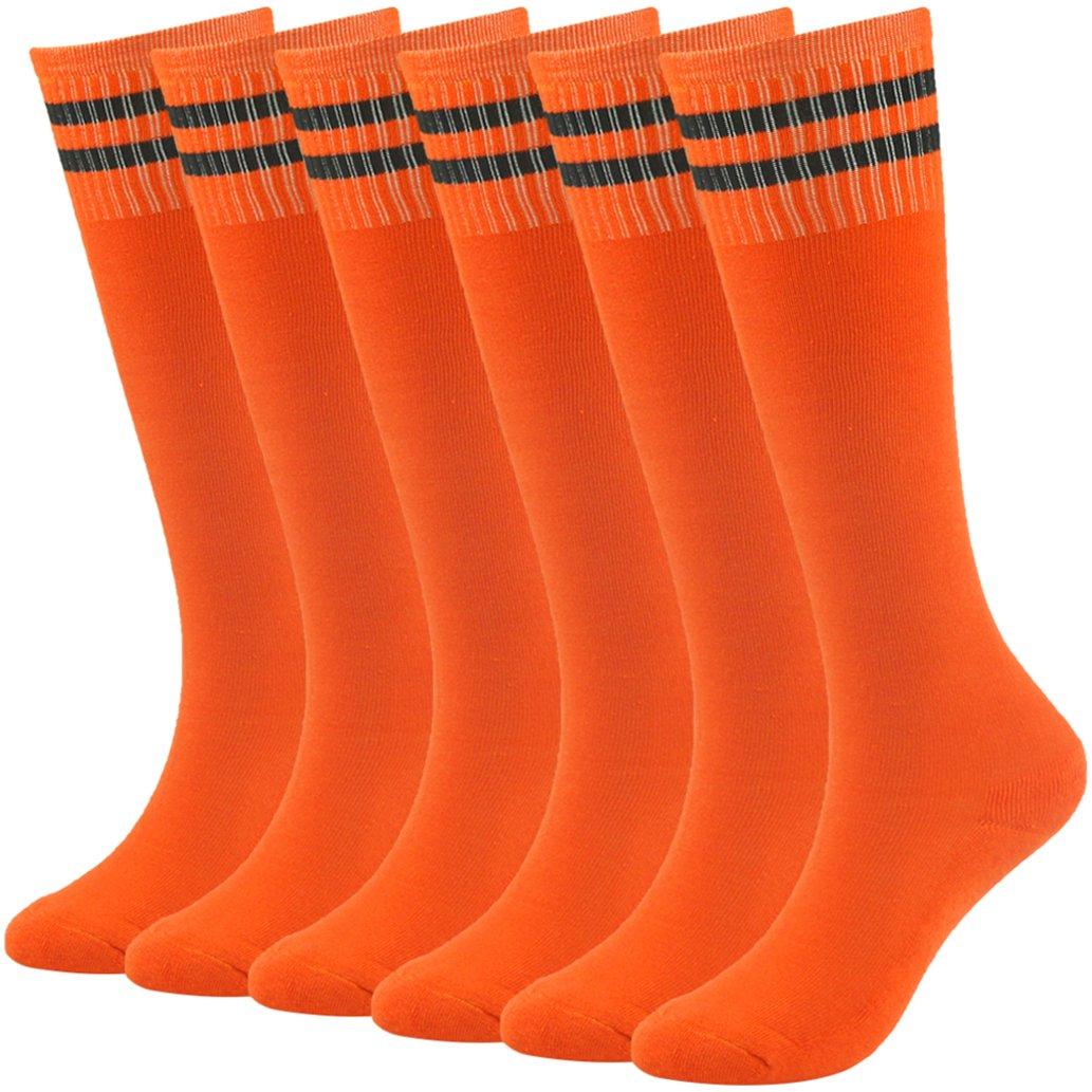 saillsen SOCKSHOSIERY ガールズ B07BGZKV42 6 Pairs-orange 6 Pairs-orange