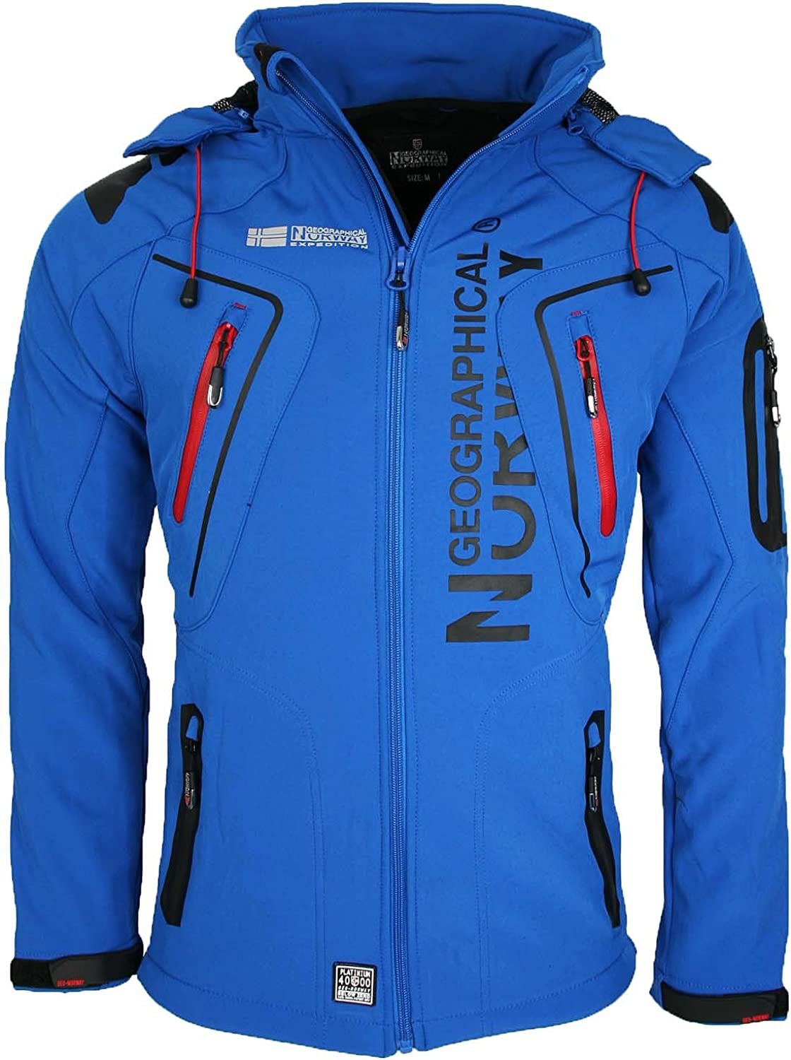 Geographical Norway blue