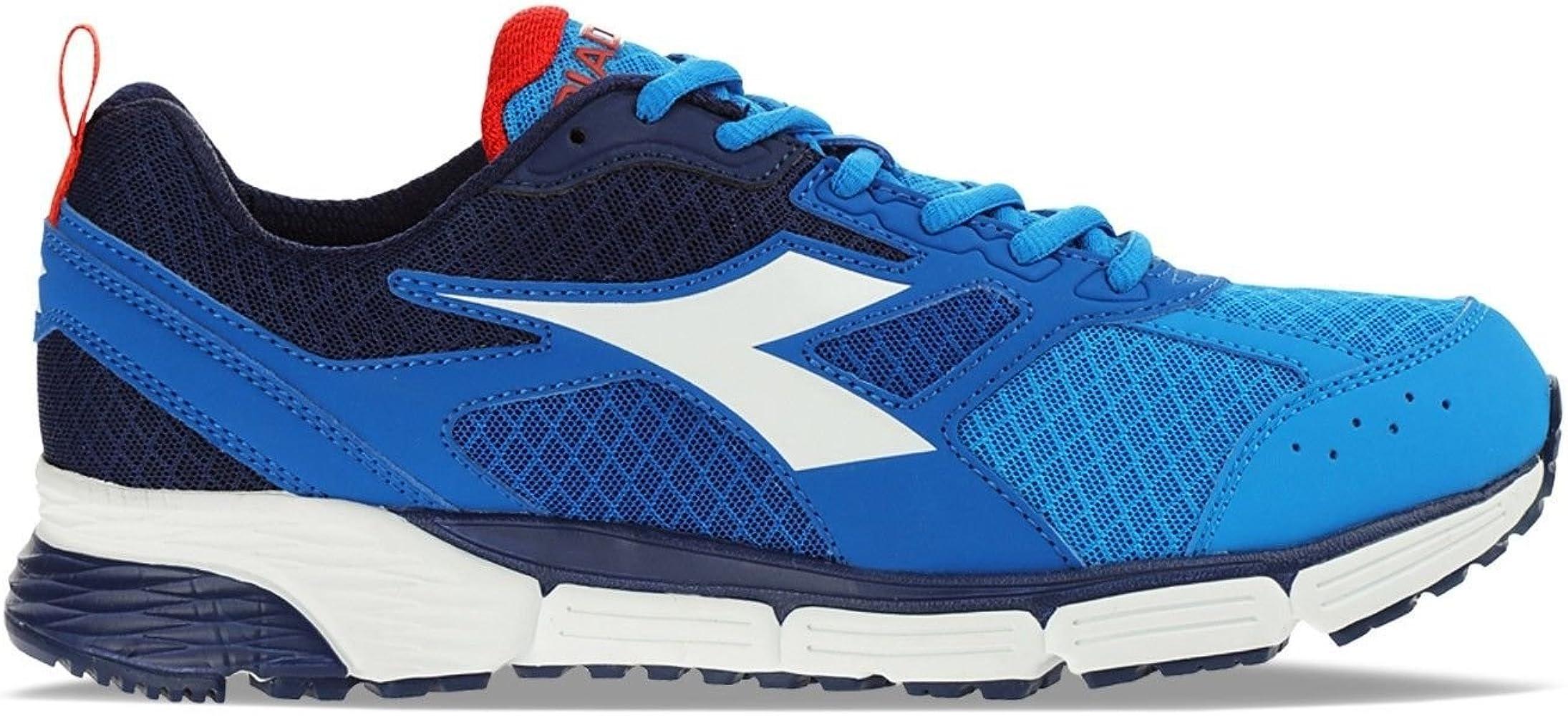 Diadora - Zapatillas de Running de Lona para Hombre Azul Turquesa ...