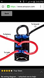 e support car blue led rear light toggle switch finance eden help other customers the most helpful reviews