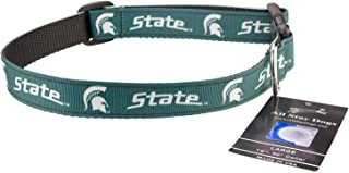 product image for All Star Dogs Michigan State Spartans Ribbon Dog Collar