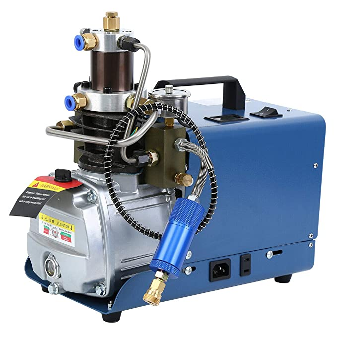 30MPA 4500PSI Electric PCP Air Compressor Pump for Normal car and Bicycle Tires Airgun Scuba Rifle ETE ETMATE High-Pressure Air Compressor Pump