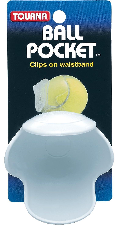 Tourna Pocket Pro Tennis Ball Waist Clip Holder Holds One Tennis Ball POK