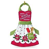 "Hallmark Keepsake 2016 ""Mom & Daughter Baking Memories"" Dated Holiday Ornament"