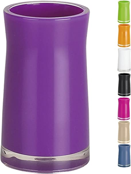 Spirella Sydney Toothbrush Holder Acrylic Purple Height 12 Cm X Width 6 5 Cm Amazon Co Uk Kitchen Home