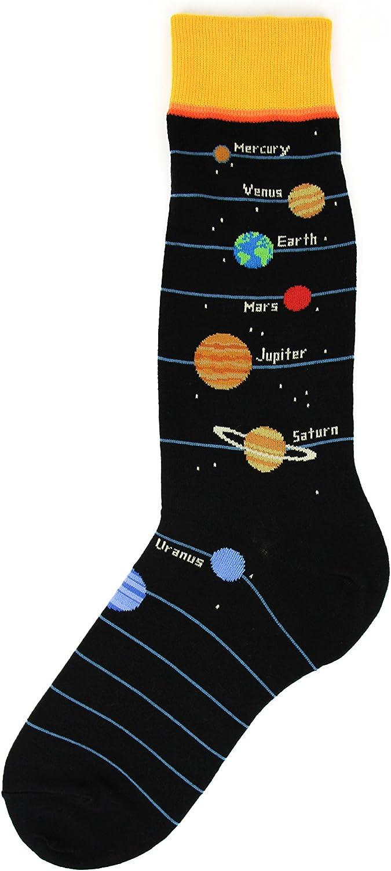 Foot Traffic, Men's Education-Themed Socks, Fits Men's Shoe Sizes 7-12