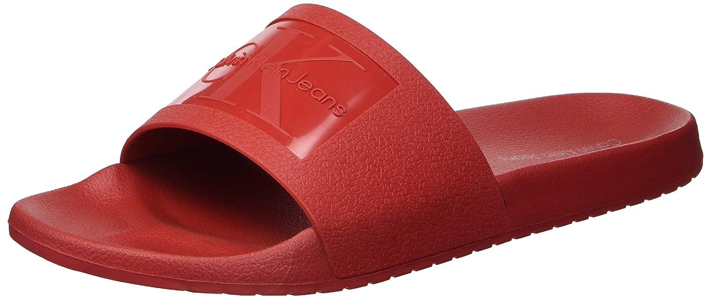 5886be4bd8b8d Calvin Klein Mens Vincenzo Jelly Slide Sandal