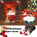 Personalised Father Christmas Xmas Sock Colorful