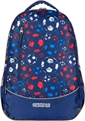 American Tourister Hs Mv+ 28 Ltrs Blue Casual Backpack (AT9 (0) 11 008)