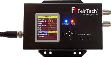 FeinTech VHQ00100 HDMI modulador DVB-C y TDT convertidor Full-HD Encoder HDTV: Amazon.es: Electrónica