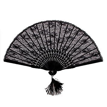 folding hand fan. nsstar high quality lady\u0027s girl\u0027s vintage retro flower lace handheld folding hand fan n