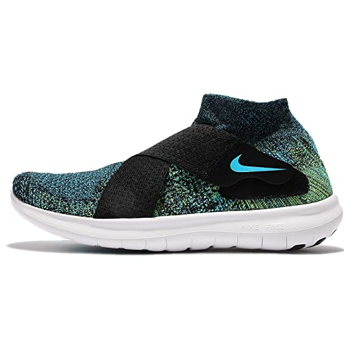 daceb4e0e186 Nike Free RN Motion FK 2017 880845 004 Black Chlorine Volt White Men s Sz  12  Buy Online at Low Prices in India - Amazon.in