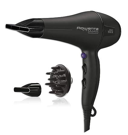 Rowenta cv7843 secador de pelo, Negro