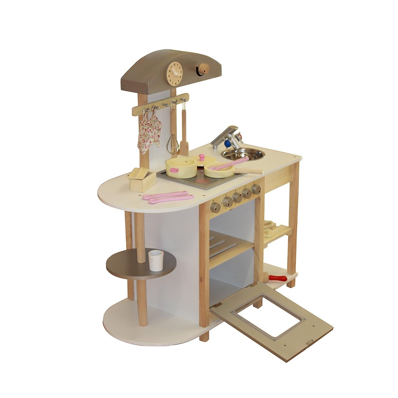 Liberty House Toys - Cucina giocattolo in legno, con accessori ...