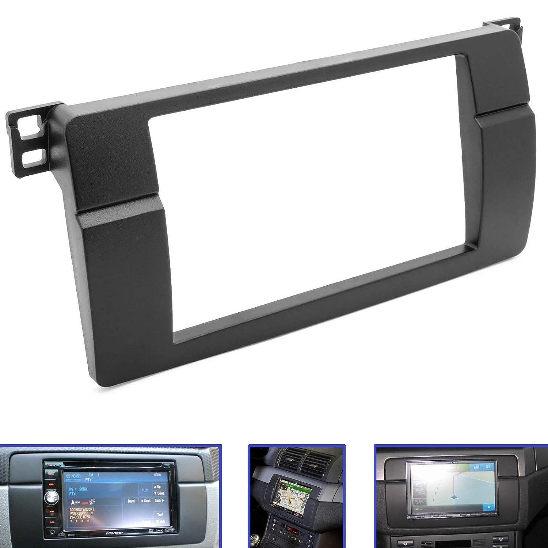 Adaptador Universe Auto adatron/ E46 Coche veh/ículo /Marco Doble DIN para BMW 3/