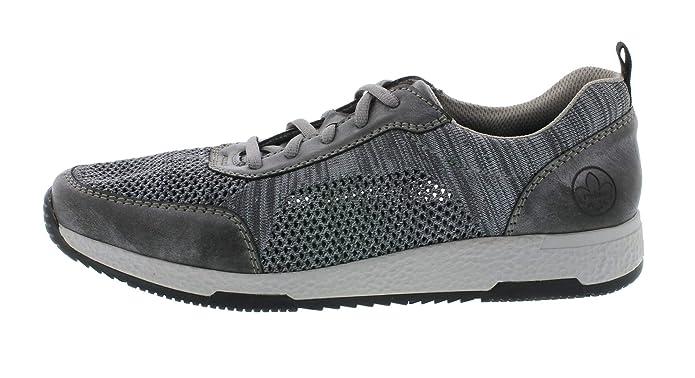 Details zu Rieker Antistress Schuhe Herren Freizeit Halbschuhe Sneaker Schnürschuhe 16300
