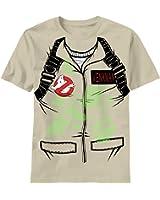 Ghostbusters Venkman Costume Glow in the Dark Khaki T-Shirt