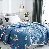 Colcha de Verano Colcha Acolchada para Cama, Chickwin Multiuso Edredón Manta de Dormitorio Reversible Suave y Cómoda…