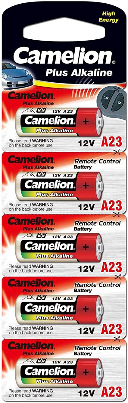Plus Alkaline Camelion Lr23a 5er Blister Bürobedarf Schreibwaren