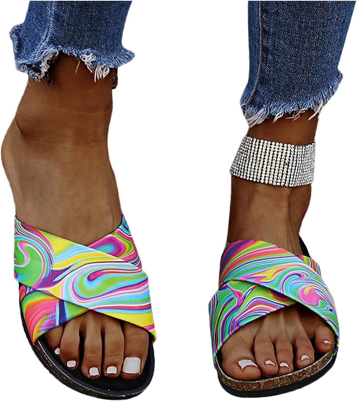 ZBYY Sandalias de verano para mujer, con puntera abierta, cómodas, de moda, para playa, para viajes, para la playa