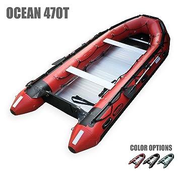 seamax ocean470t 15,5 pies grado comercial hinchable barco, Max 12 ...
