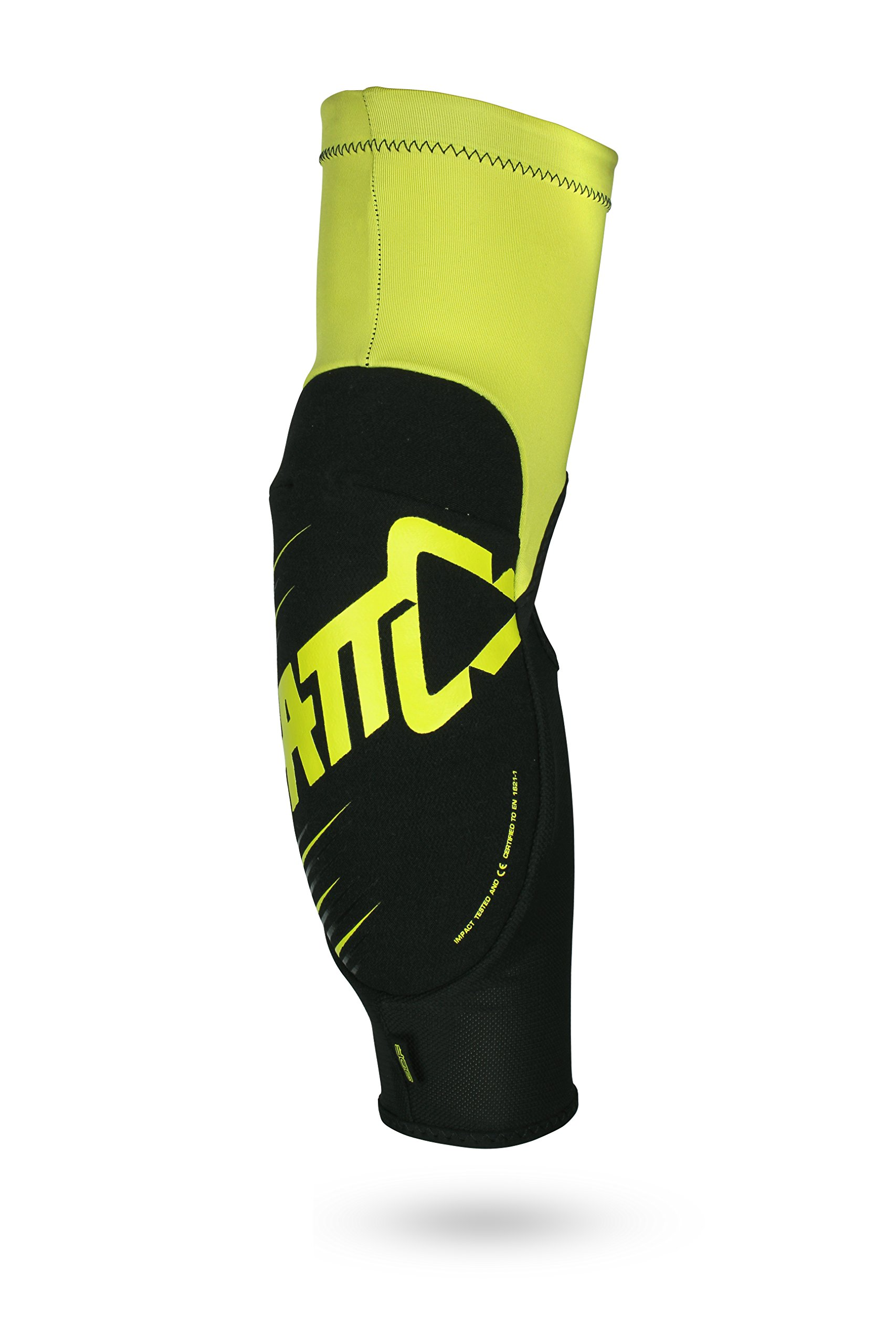 Leatt 3DF 5.0 Elbow Guard (Lime/Black, Junior)
