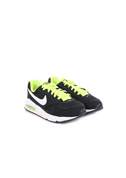 new style a7cbc c4138 NIKE AIR MAX IVO (GS) - Trainers, Men, Black - (Black White-Volt), 39   Amazon.co.uk  Shoes   Bags