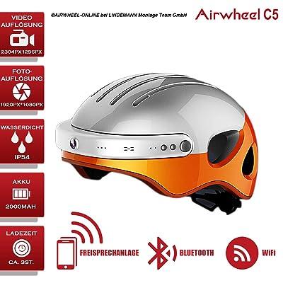 Casque avec Bluetooth, Caméra, mains libres airwheel C5. XL Taille (Tour de tête 59–63cm). Garantie 24mois