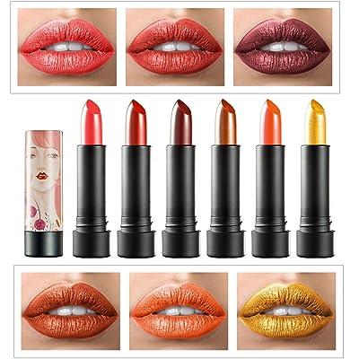 bureze huamianli Glitter Shimmer–Barra de labios