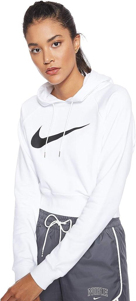 Automaticamente Altoparlante aiutante  Nike Swoosh Hoodie Crop Ft, Felpa con Cappuccio Donna: Amazon.it:  Abbigliamento