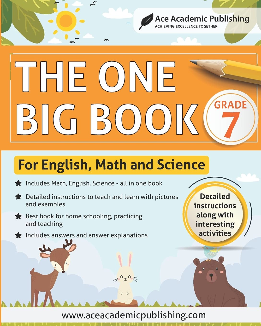 The One Big Book – Grade 7: For English, Math and Science