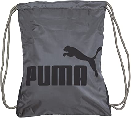 Puma PSC1006 Forever Carry Sack Black  Grey One Size  Amazon.co.uk ... 8822a840eed9b
