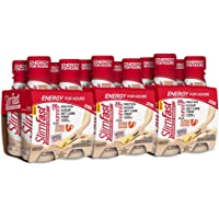 SlimFast Advanced Energy, Meal Replacement Ready to Drink, Protein Shake, 20 Grams of Protein, With Caffeine, Vanilla,11 Fl Oz, Pack of 12