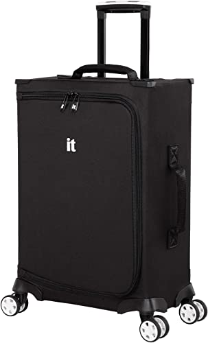 it luggage MaXpace Softside Spinner Wheel, Black, Carry-On 22-Inch