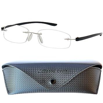 76fb4b6086 Gafas de Lectura Montura al Aire con Cristales Ovalados - Estuche de Gafas  Incluido GRATIS