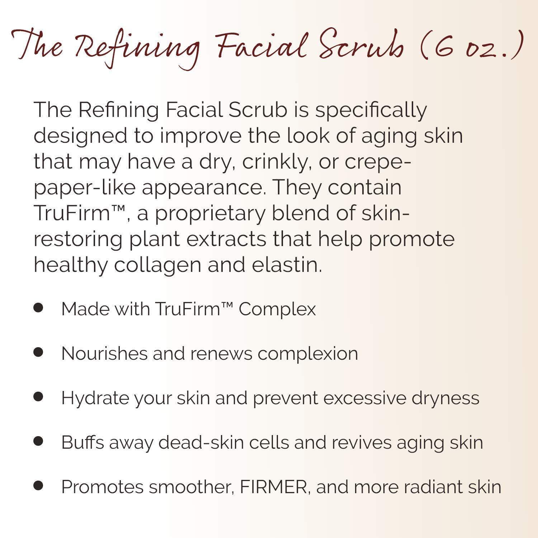 Crepe Erase - Refining Facial Scrub - TruFirm Complex - 6 Fluid Ounces by Crepe Erase (Image #2)